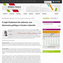 Espace Mendes France, Poitiers - » Il s'agit finalement de redon