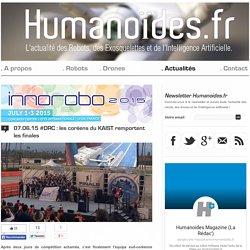 #DRC : les coréens du KAIST remportent les finalesRobots, Drones et Intelligence Artificielle