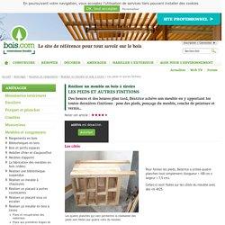 Finaliser la fabrication d'un meuble en bois