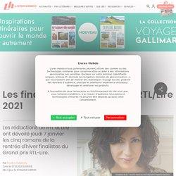 Les finalistes du Grand prix RTL/Lire 2021...