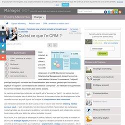 L'e-CRM : finalités, techniques et outils pour le digital