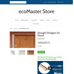 Finally! Door draught proofing system that really works! – ecoMaster Store