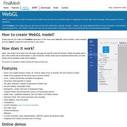 FinalMesh - WebGL