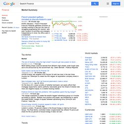 Google Finance: Stock market quotes, news, currency conversions & more