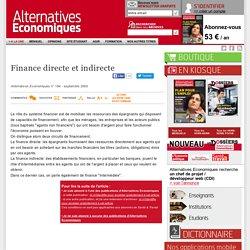 Finance directe et indirecte
