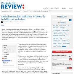 La finance à l'heure du calcul humanoïde - Arnaud Vincent