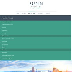 Finance Law Firm Beirut, Lebanon - Baroudi & Associates