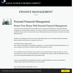 lower interest Global finance Management