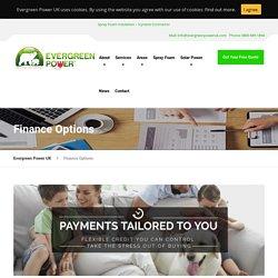 Finance Options - Evergreen Power UK