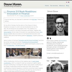 Finance 2.0 Book Roadshow: Innovation in Finance