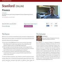 Finance, Stanford University