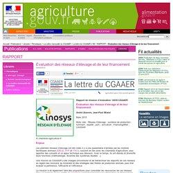 MAAF 24/04/15 Rapport de mission d'évaluation 14039 CGAAER - Évaluation des réseaux d'élevage et de leur financement