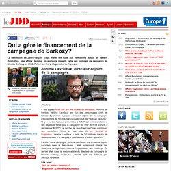 Qui a géré le financement de la campagne de Sarkozy en 2012?