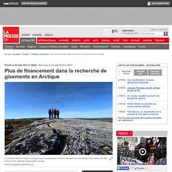 Plus de financement dans la recherche de gisements en Arctique