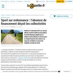 Sport sur ordonnance : l'absence de financement déçoit les collectivités