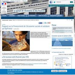 Rapport sur le financement de l'économie sociale et solidaire par bpifrance