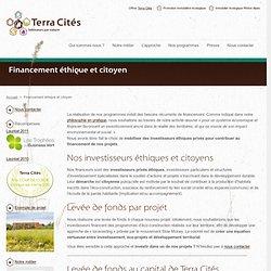 Financement éthique et citoyen - Impact investing