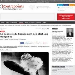 Le désastre du financement des start-ups françaises