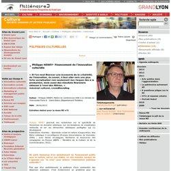Philippe HENRY- Financement de l'innovation culturelle
