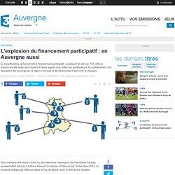 L'explosion du financement participatif : en Auvergne aussi - France 3 Auvergne
