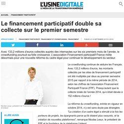 Le financement participatif double sa collecte sur le premier semestre