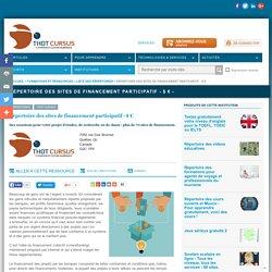 Répertoire des sites de financement participatif - $ € -