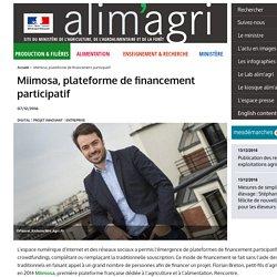 Miimosa, plateforme de financement participatif