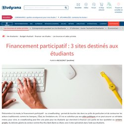 Crowdfunding: 3 sites for students