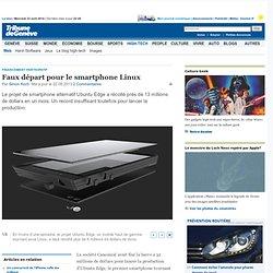 Financement participatif: Faux départ pour le smartphone Linux - News High-Tech: Web