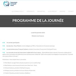Association Financement Participatif France