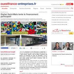 Digital Saint-Malo tente le financement participatif