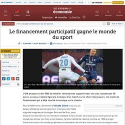 Le financement participatif gagne le monde du sport