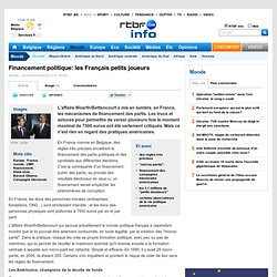 Financement politique: les Français petits joueurs