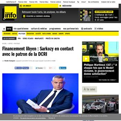 28/03/2014 audition P.Calvar financement libyen Sarkozy