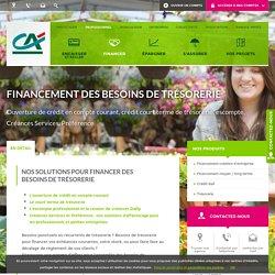 Financement des besoins de trésorerie - Crédit Agricole