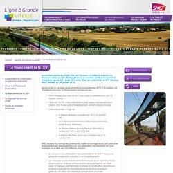 Piv a bae? ar finañs: Le financement de la LGV - Ligne à Grande VITESSE - Bretagne Pays de la Loire