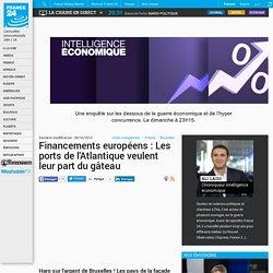 Financements européens : Les ports de l'Atlantique veulent leur part du gâteau