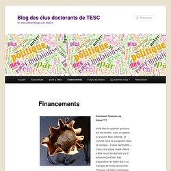 Blog des élus doctorants de TESC