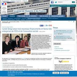 Carole Delga lance trois nouveaux financements en faveur des entreprises de l'ESS et de l'innovation sociale