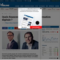 Quels financements pour la transformation digitale?