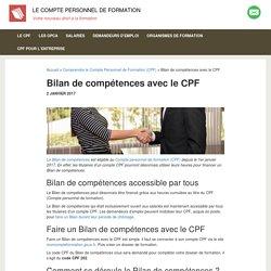 Financer un Bilan de compétences avec le CPF