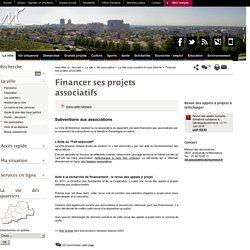 Financer ses projets associatifs