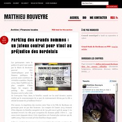 Finances locales Archives - Matthieu Rouveyre