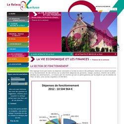 Finances de la commune - La Vie Economique et les Finances - Mairie du Relecq Kerhuon