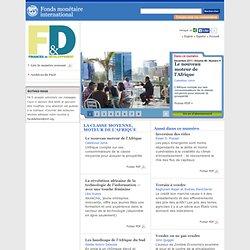 Finances & Développement, Décembre 2011