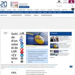 Suicide d'un salarié de Lidl: «J'y laisse mes finances, ma vie», le frère de Yannick Sansonetti accuse l'enseigne de jouer «l'épuisement»
