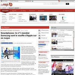 Smartphones: le n°1 mondial Samsung sent le souffle d'Apple sur sa nuque