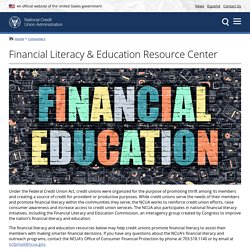Financial Literacy & Education Resource Center