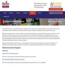 Financial Assistance by Kings Fertility Pharmacy