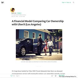 A Financial Model Comparing Car Ownership with UberX (Los Angeles)